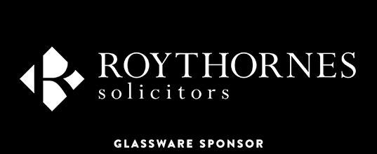Roythornes Solicitors - Glassware Sponsor